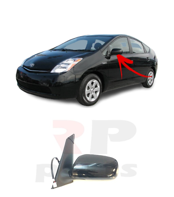 TOYOTA RAV4 2006-2009 NEW WING MIRRORS ELECTRIC HEATED PRIMED LEFT N//S LHD
