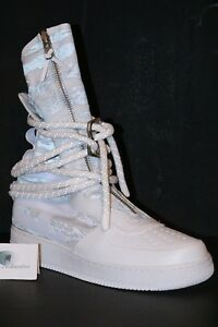 competitive price dbfb7 afa84 Image is loading Nike-Special-Field-Air-Force-1-High-IBEX-