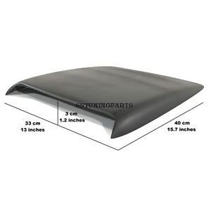 Universal-Bonnet-Hood-Roof-Air-Flow-Intake-Vent-Scoop-Cover-Wing-Nr2