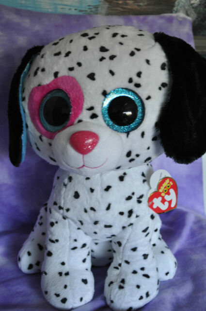 Ty Beanie Boos Chloe - Dalmatian Large (justice ) 2day Delivery for ... 8dbc8d2f1f27