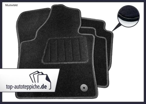 BMW 3er E46 Coupé 100/% passform Fussmatten Autoteppiche Schwarz