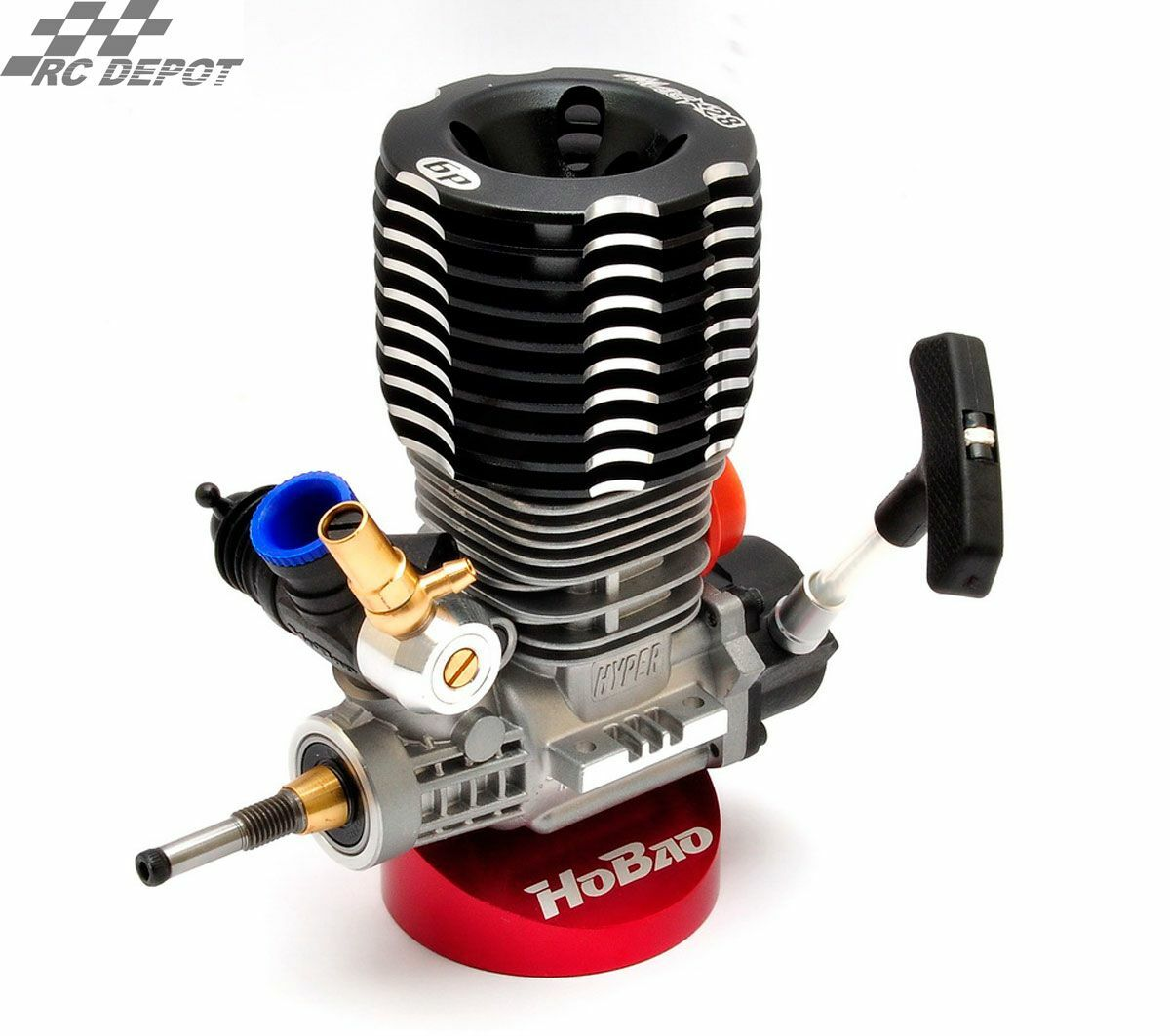 HOBAO OFNA 53220  H-2802T 6 Port Engine w  Pull Starter  (RC_DEPOT)  US SELLER