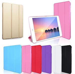 Smart-Magnetica-Cover-Pelle-Posteriore-custodia-per-Apple-IPad-6-IPad-5
