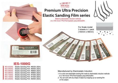 3pcs Infini Model Ealastic Sanding Film #1000