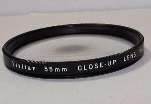 Lens-Filter-Vivitar-55mm-Close-Up-Macro-Lens-2-No-2-Shipping-is-free-worldwide