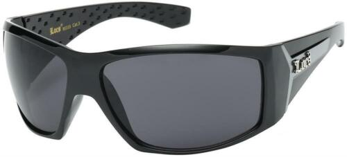 Large OG Real Locs Sunglasses Dark Gangster Shades Men Locs Glasses Black Gray