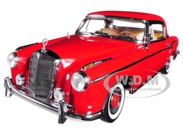 Mercedes Diecast 220se 18 1 Modèle 1958 Sunstar Coupe Rouge 3563 Se 4RjL3qA5