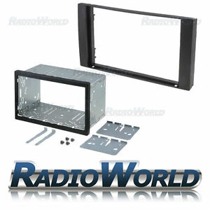 Ford-Transit-amp-S-Max-Double-Din-Fascia-Panel-Adapter-Plate-Cage-Fitting-Kit