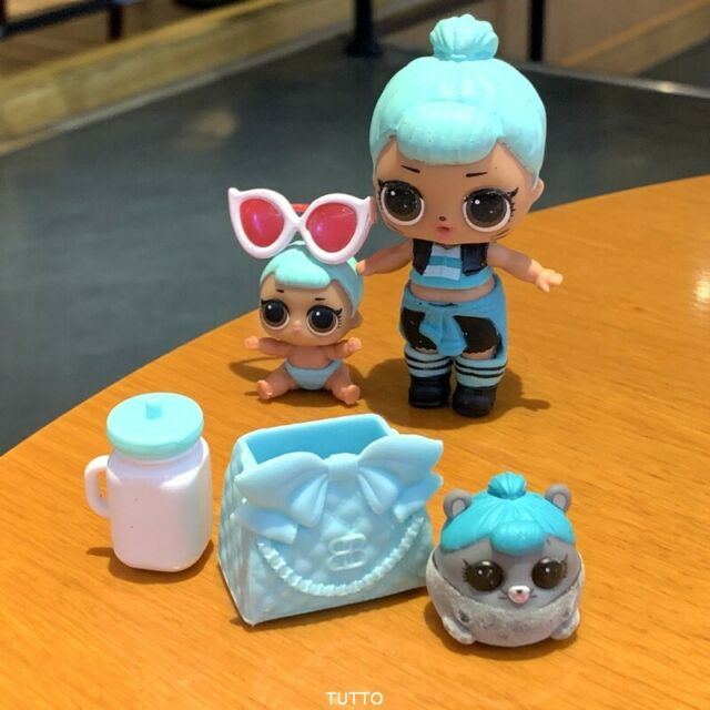Lol Surprise Dolls, TROUBLEMAKER & her Ultra Rare pet. Lot of 3.