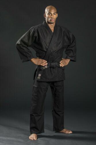 Ronin Brand Ultimate black Judo//Jujitsu Uniform