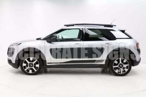ANY COLOUR DECAL GRAPHICS FOR CITROEN C4 CACTUS STICKERS PAIR