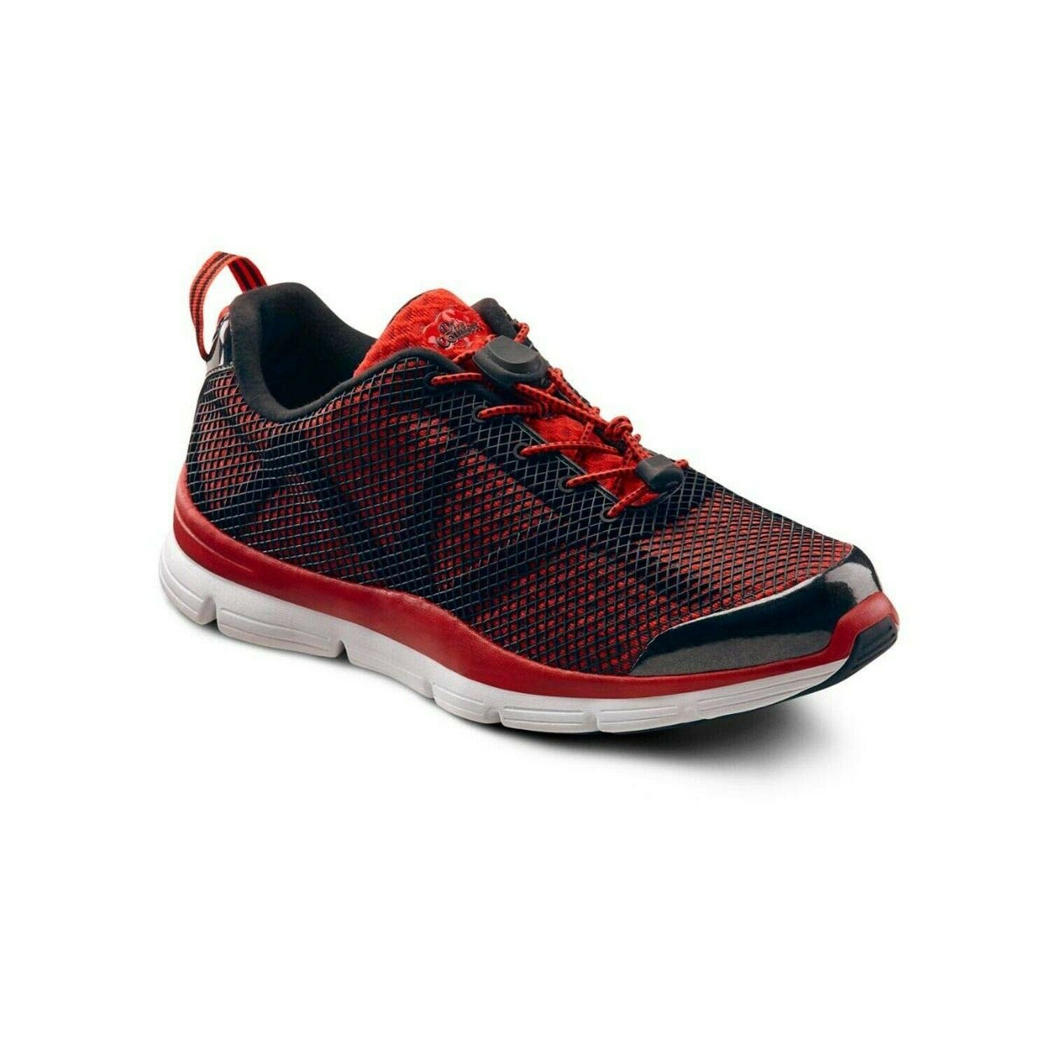 Dr. Comfort Jason Men's Therapeutic Extra Depth Athletic shoes  Red 9.5 X-Wide...