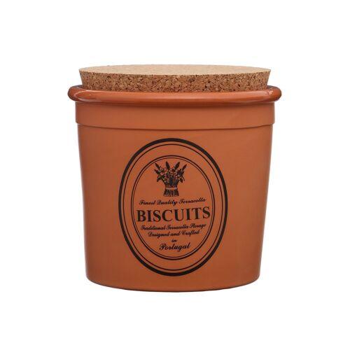 Traditional Porto terre cuite biscuits Absorbeur Jar Récipient de rangement cuisine pot