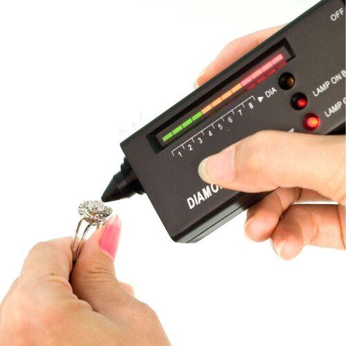 Pochette Diamant sélecteur testeur de diamant bijoux 60x Loupe Support TE052.