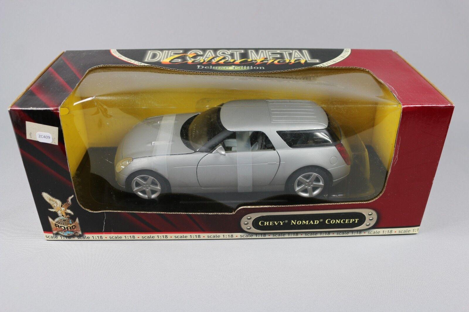ZC409 Road Signature 92668 Voiture Miniature Miniature Miniature Deluxe 1 18 Chevy Nomad Concept ac82fb