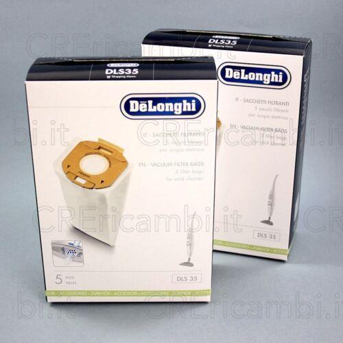 Colombina DELONGHI 5519210141 2 x 5 Sacchetti Microfibra DLS35
