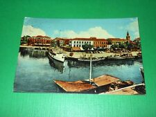 Cartolina Grado - Il Porto 1957