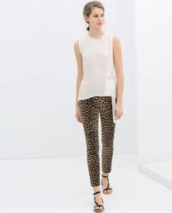 cherrie424: NWT Zara Leopard Print Pants