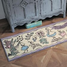 NEW! Kitchen Rug Alice in Wonderland Disney Fantasy Shop 45x150cm Carpet Japan