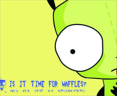 Waffles invader zim