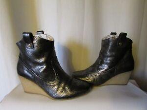 Joe Sister Boots Gris Cuir Anthracite M bottines Paul Et Iw1Zqtz