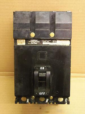 SQUARE D FA FA32070 70 AMP 3 POLE 240V CIRCUIT BREAKER BLACK FACE