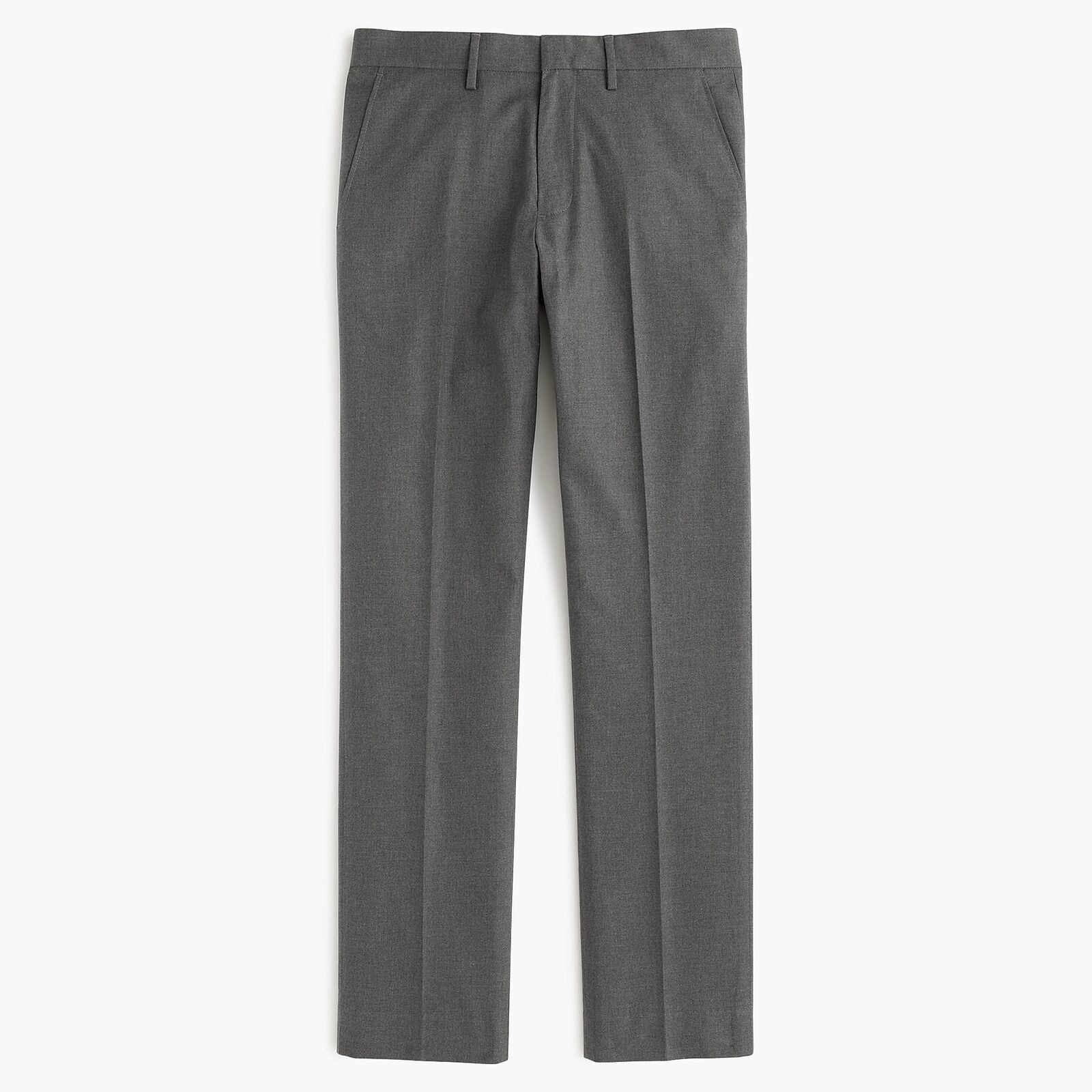J.Crew Ludlow Classic-Fit Pant In Heather Cotton Twill   31 30   Hthr Grey