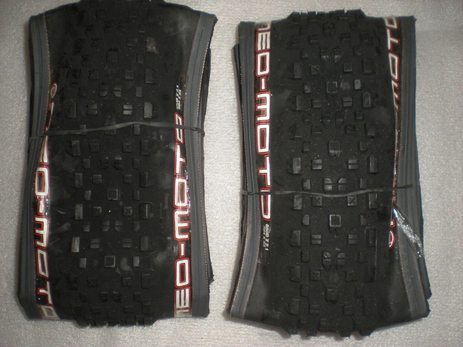 Panaracer Pacenti par de Neo Moto 27.5 X 2.1  grano Plegable Neumáticos Negro Nuevo