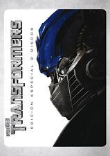 PELICULA DVD TRANSFORMERS EDICION ESPECIAL 2 DISCOS + FUNDA HOLOGRAFICA