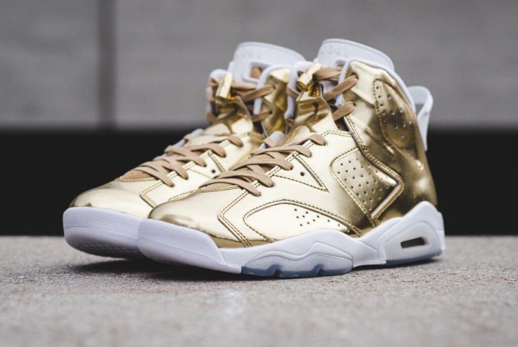 Nike Air Jordan 6 Retro Pinnacle Metallic Gold DS