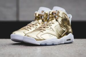 meet 33542 bde9a Details about Nike Air Jordan 6 Retro Pinnacle Metallic Gold DS Size 9.5  854271-730 - 1 3 cny
