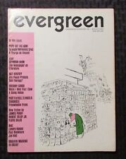 1967 EVERGREEN REVIEW Magazine #48 FN+ 6.5 Counter Culture - Freewheelin Frank
