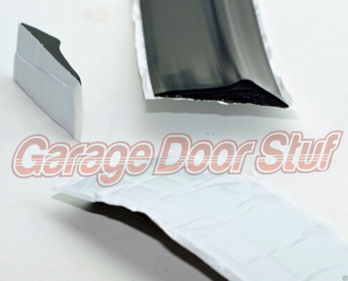 PEEL AND STICK Garage Door Weather Seal Threshold Bottom Seal 12 Foot