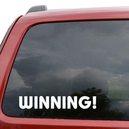 Winning JDM Vinyl Decal Sticker Car Window Truck Decor