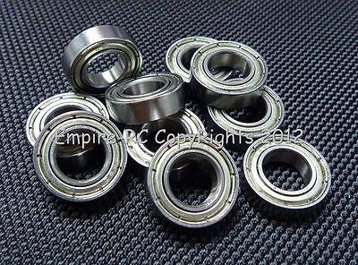 (4pz) 689zz (9x17x5mm) Metallo Schermato Cuscinetto A Sfera 689z 9 17 5