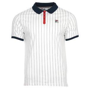 Détails sur Vêtement Polos Fila homme Polo BB1 taille Blanc Coton