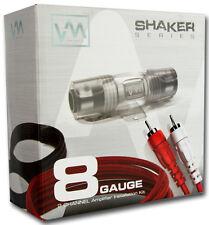 VM Audio SRPK8R 8 Gauge Car Amplifier Amp Installation Wiring Complete Kit+RCA