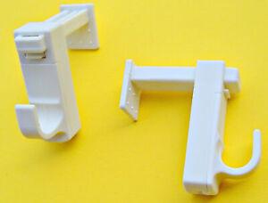 Klemmträger für Scheibengardinen ohne Bohren! Halterung für Gardinenstangen