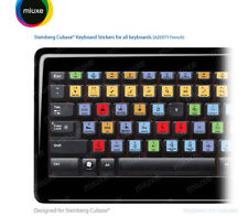 Steinberg Cubase / Nuendo Keyboard Stickers | All Keyboards | AZERTY Français