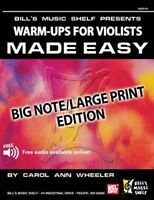Warm Ups For The Violists Made Easy (book+online Audio), Mb-20192 on sale