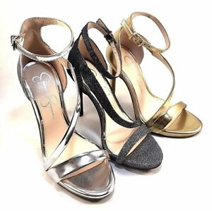 08259318d8 Jessica Simpson Rayli High Heel Ankle Strap Sandals Choose Sz/Color ...