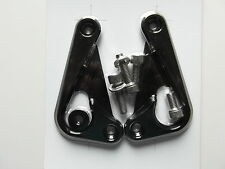 Racing Hooks Halter Spanngurt Kawasaki ZX10R 2011 2012 2013 2014 2015 schwarz