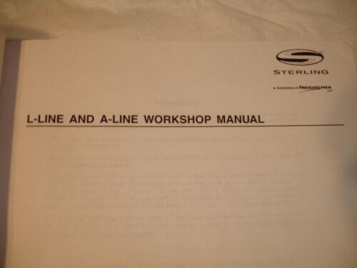 Other Car Manuals Sterling Freightliner Factory L Line & A Line ...