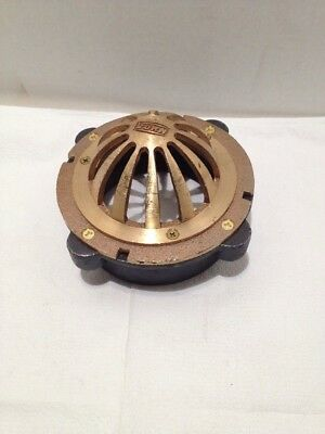 Zurn Z181 Cornice Drain 6 Inch Flange Bronze Dome 4