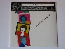 """PREMIATA FORNERIA MARCONI  PFM """"Come Ti Va In Riva Alla Citta""""  japan mini LP CD"""