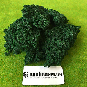 Dark Green Clump Foliage - Hedge Trees Modelling Scenic Warhammer Bush Scenery 3MQteDrb-09154624-483874698
