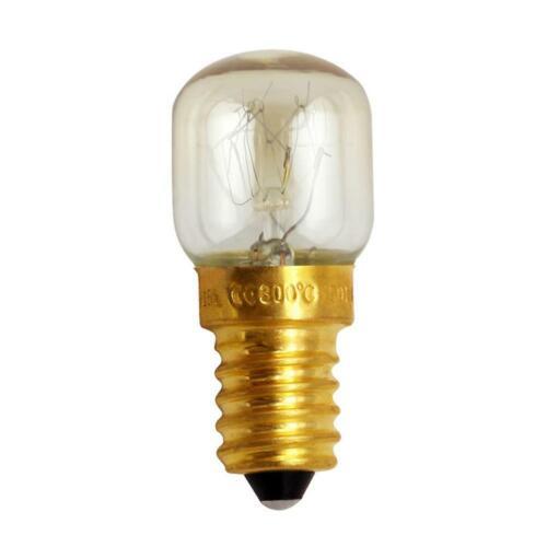 E14 15W//25W Warm White Oven Cooker Bulb Lamp Heat Resistant Light 220-230V P1B4