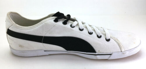 Shoes bianchenere Canvas Puma Benecio 12 Sneakers Taglia 4RS3jLqc5A