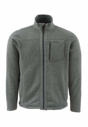 Cork* or Dark Shadow XL SIMMS Rivershed Sweater Full Zip
