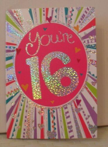 16 ans Anniversaire Cartes